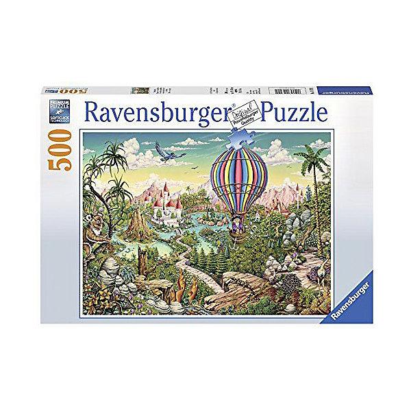 Ravensburger Пазл Ravensburger На воздушном шаре, 500 элементов пазл ravensburger сейшелы 1500 элементов