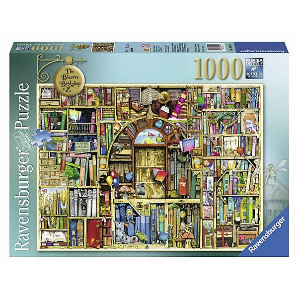 Ravensburger Пазл Ravensburger Необыкновенный книжный магазин 2, 1000 элементов пазл ravensburger сейшелы 1500 элементов