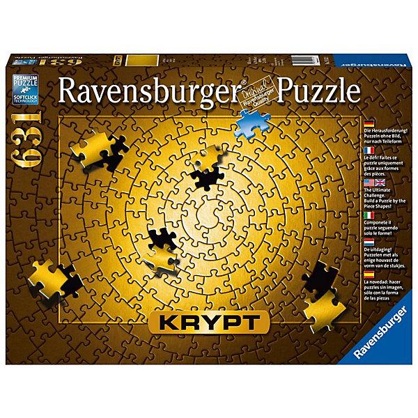 Ravensburger Пазл Ravensburger Krypt Золото, 631 элемент пазл ravensburger сейшелы 1500 элементов