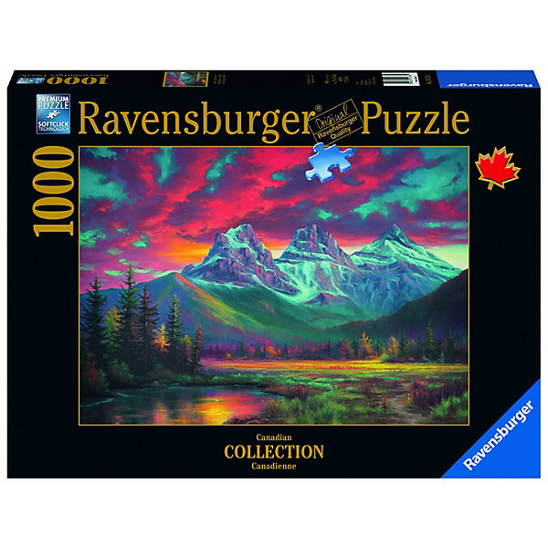Ravensburger Пазл Ravensburger Три сестры, Альбетра, 1000 элементов пазл ravensburger сейшелы 1500 элементов