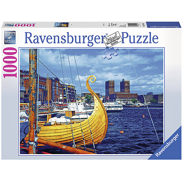 Ravensburger Пазл Ravensburger Осло, 1000 элементов пазл ravensburger сейшелы 1500 элементов