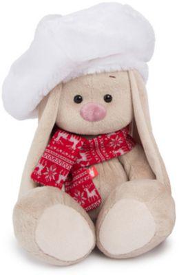 Мягкая игрушка Budi Basa Зайка Ми в белом берете, 18 см, артикул:10200543 - Мягкие игрушки