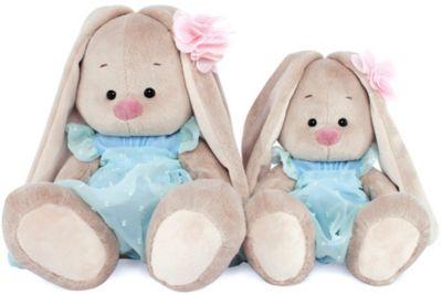 Мягкая игрушка Budi Basa Зайка Ми в голубом платье, 23 см, артикул:10200553 - Мягкие игрушки
