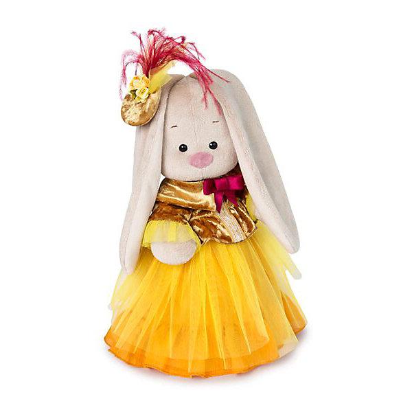 Budi Basa Мягкая игрушка Budi Basa Зайка Ми барышня в янтарно-золотом, 25 см bearington зайка 25 см bearington