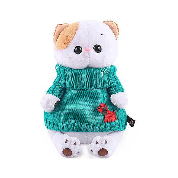 Budi Basa Мягкая игрушка Budi Basa Кошечка Ли-Ли в зеленом свитере, 24 см