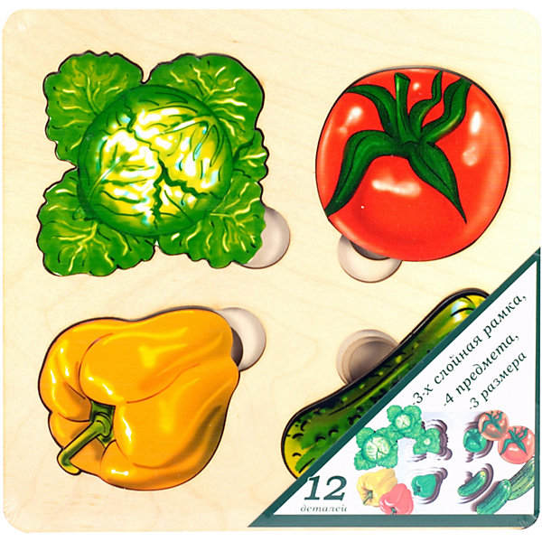 Нескучные игры Развивающая доска Нескучные Игры Больше-меньше Овощи анданте развивающая доска больше меньше фрукты