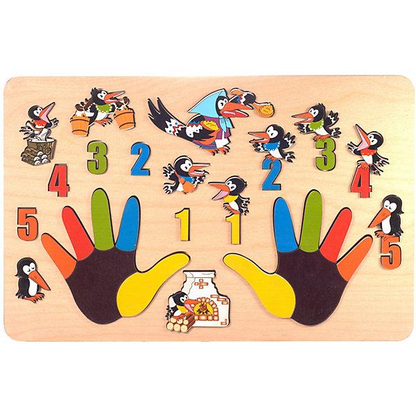Нескучные игры Развивающая доска Нескучные Игры Сорока-белобока сорока белобока