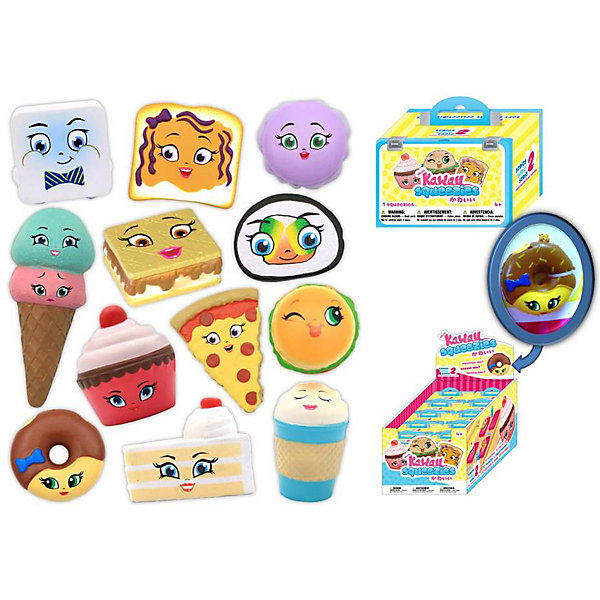 Kawaii Мягкая игрушка-антистресс Угощения