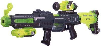 Мегабластер ABtoys электромеханический, 20 снарядов, артикул:10208133 - Игрушечное оружие