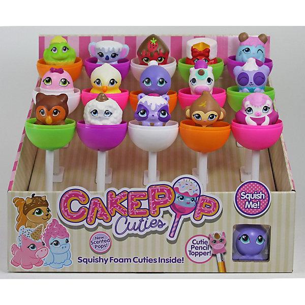 Basic Fun Игрушка-антистресс Cake Pop Cuties 2 серия, в закрытой упаковке