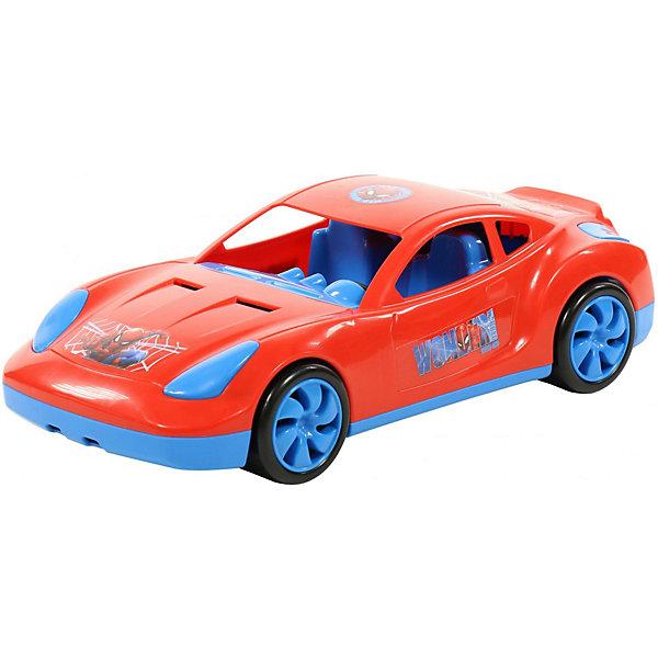 Полесье Автомобиль Marvel Мстители. Человек-Паук , красный полесье набор игрушек для песочницы полесье marvel человек паук 11 4 предмета