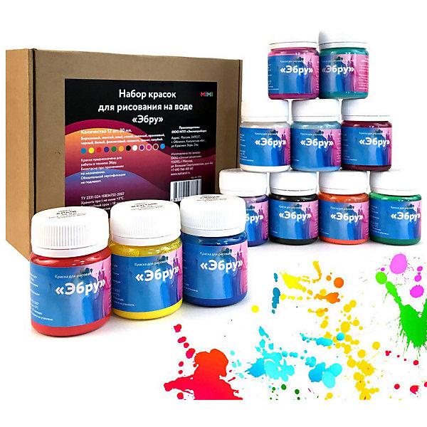 "- Набор красок для рисования на воде Mimi ""Эбру"""