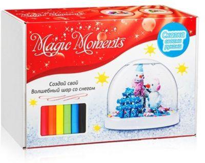 Набор для творчества Magic Moments  Создай Волшебный шар  Снеговики, артикул:10214505 - Рукоделие и поделки