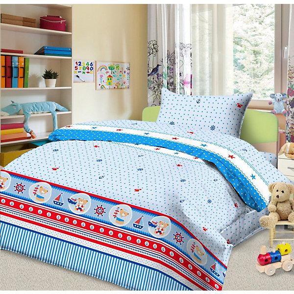 цена Letto Детское постельное белье 3 предмета Letto, простыня на резинке, BGR-102 онлайн в 2017 году