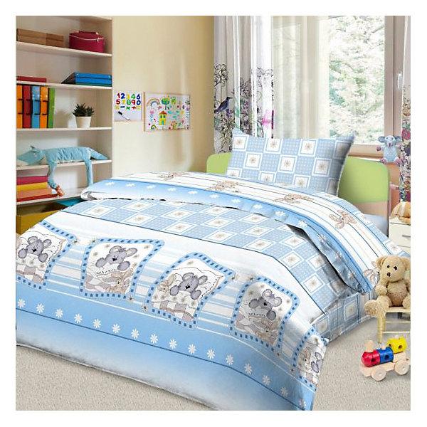 цена Letto Детское постельное белье 3 предмета Letto, простыня на резинке, BGR-83 онлайн в 2017 году