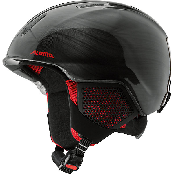Alpina Зимний шлем CARAT LX black-lumberjack