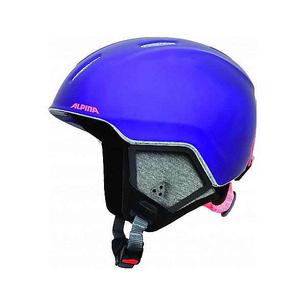 Alpina Зимний шлем CARAT LX royal-purple matt