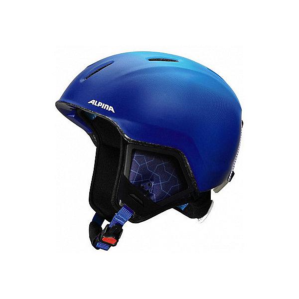 Alpina Зимний шлем Alpina CARAT LX blue-gradient matt alpina testido green matt black blue mirror s3