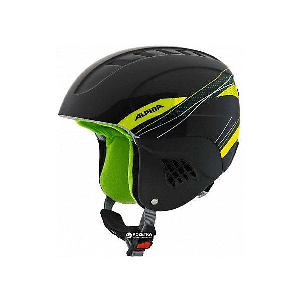Alpina Зимний шлем Alpina CARAT black-green alpina testido green matt black blue mirror s3