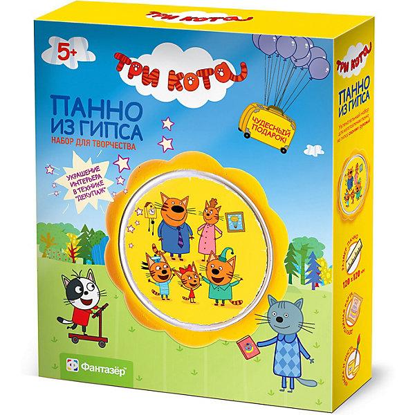 Купить Набор для создания панно из гипса Фантазёр Три кота Семейный портрет, Фантазер, Россия, разноцветный, Унисекс