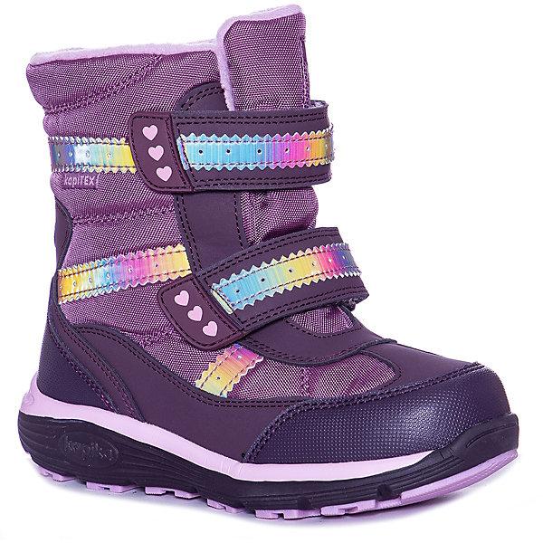 Kapika Ботинки Kapika для девочки ботинки для девочки kapika цвет синий 53296ук 2 размер 32