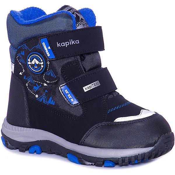 Kapika Ботинки Kapika для мальчика ботинки для мальчика kapika цвет синий 52311у 2 размер 29