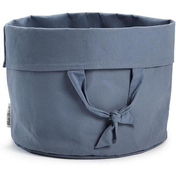 Купить Корзина-переноска для детских принадлежностей Elodie Details Tender Blue, Китай, сине-серый, Унисекс