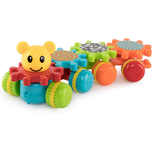 Happy Baby Игрушка-каталка Happy Baby MECHANIX TRAIN игрушка happy baby 331843 игрушка swimming turtles