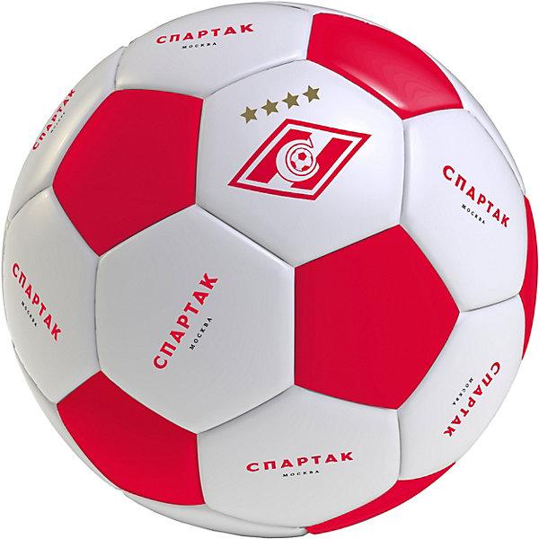 - Мяч футбольный Спартак, размер 5 мяч indigo 5 scorpion