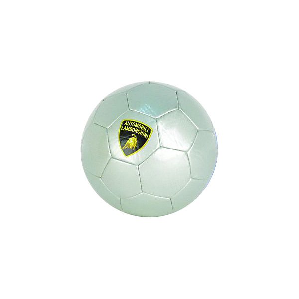 Футбольный мяч Lamborghini, 22 см, серый