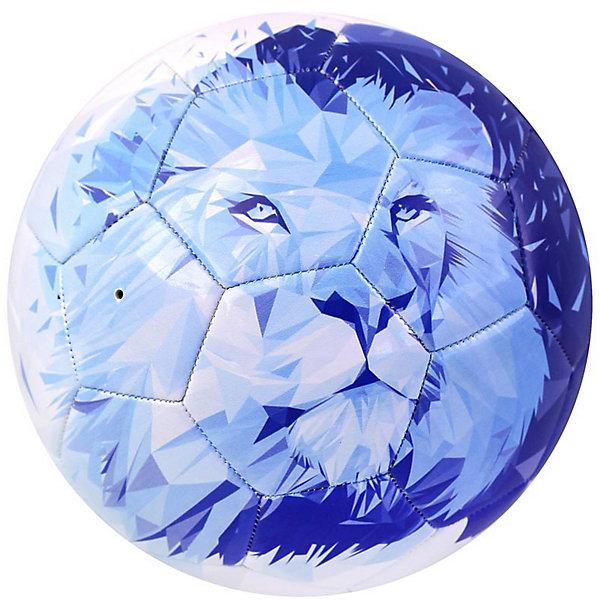 - Мяч футбольный Зенит размер 5, сине-белый мяч indigo 5 scorpion