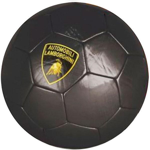 Lamborghini Футбольный мяч Lamborghini 22 см, чёрный футбольный тренажер exit 124x124 см