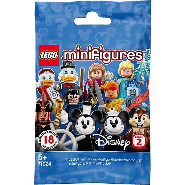 Купить Коллекционные минифигурки LEGO Disney 71024: Серия 2, Унисекс