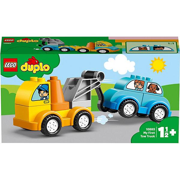 LEGO Конструктор DUPLO My First 10883: Мой первый эвакуатор