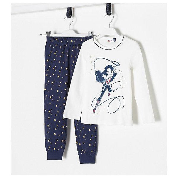 Купить Пижама Original Marines для девочки, Бангладеш, синий, 152, 140, 128, Женский