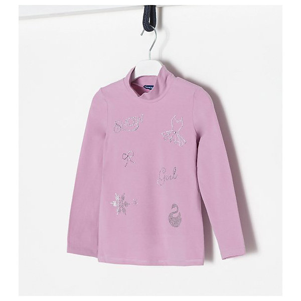 Купить Водолазка Original Marines для девочки, Шри-Ланка, розовый, 128, 92, 140, 152, 104, 116, Женский