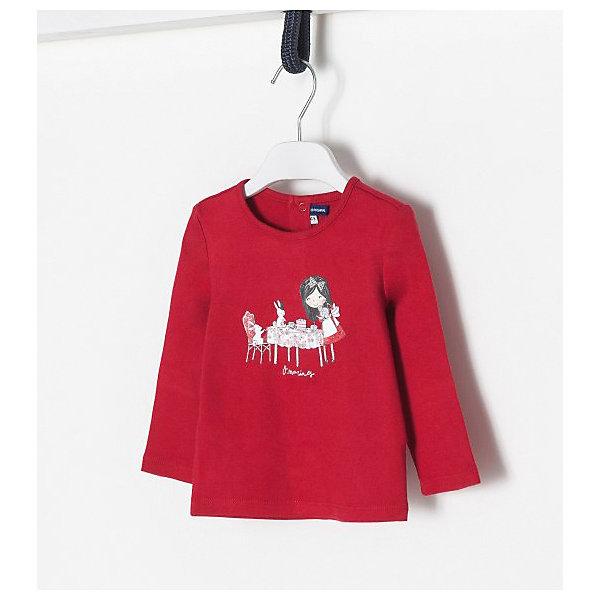 Купить Джемпер Original Marines для девочки, Бангладеш, красный, 74, 80, 68, 62, 86, Женский