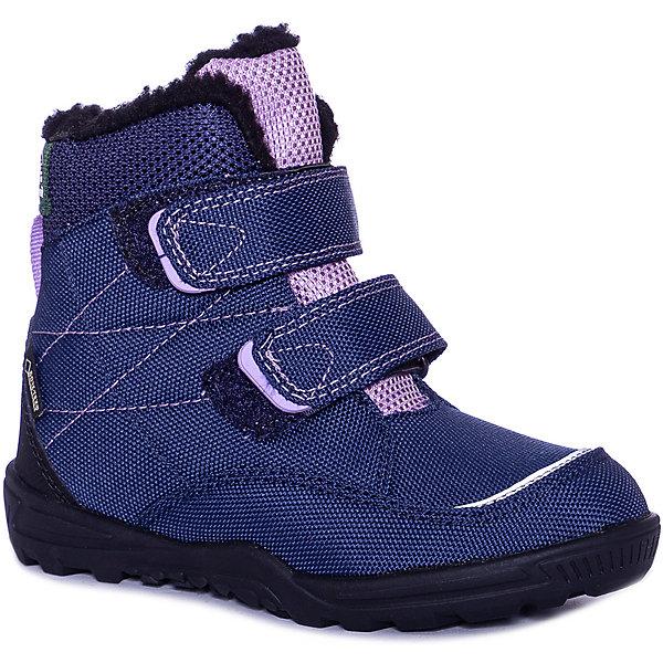 Ботинки QUINN3GTX Kamik для девочки, Blau/lila