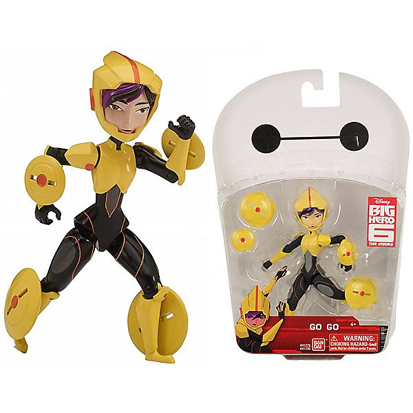 BANDAI Фигурка Bandai Big Hero 6, Гого, 12 см bandai фигурка o p dxf manhood monkey d luffy 12 см