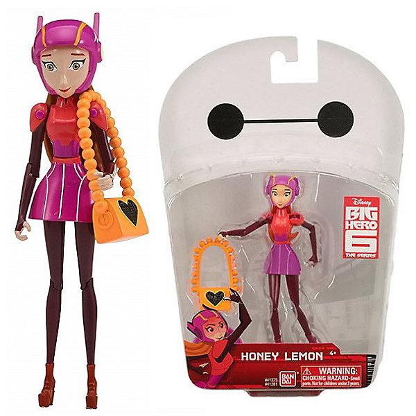 "BANDAI Фигурка Bandai ""Big Hero 6"", Хани Лемон, 12 см"