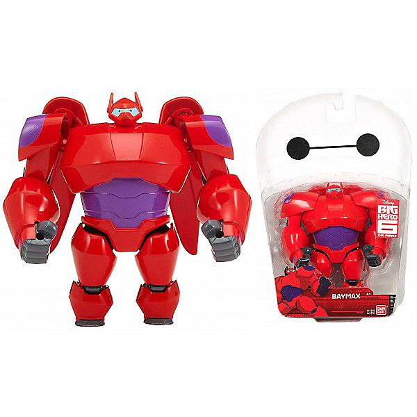 BANDAI Фигурка Bandai Big Hero 6, Бэймакс, , 12 см bandai фигурка o p dxf manhood monkey d luffy 12 см