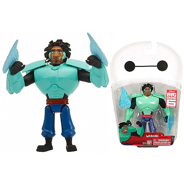 BANDAI Фигурка Bandai Big Hero 6, Васаби, 12 см bandai фигурка o p dxf manhood monkey d luffy 12 см