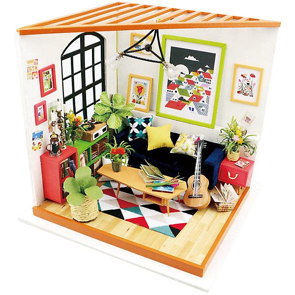 Diy House Сборная модель-румбокс Diy House Гостинная румбокс интерьерный конструктор diy mini house музыкальная комната