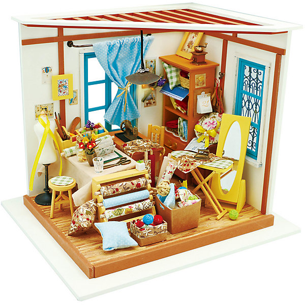 Diy House Сборная модель-румбокс Diy House Магазинчик румбокс интерьерный конструктор diy mini house музыкальная комната