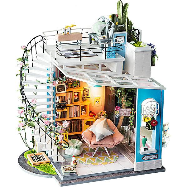 Diy House Сборная модель-румбокс Diy House Уютный лофт румбокс интерьерный конструктор diy mini house музыкальная комната