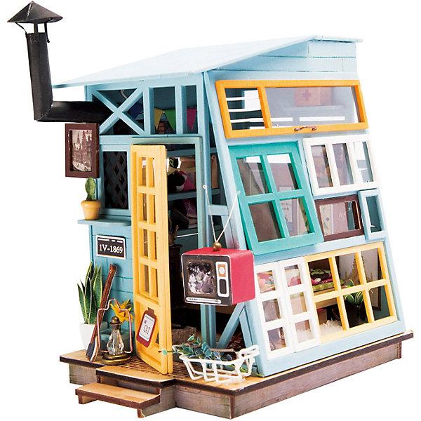 Diy House Сборная модель-румбокс Diy House Чердак diy house сборная модель румбокс diy house книжная лавка