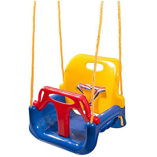 Kett-Up Качели 3 в 1 Kett-Up, сине-жёлто-красные качели пластик сиденье 40см