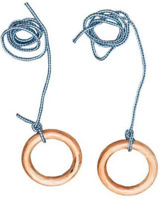 Гимнастические кольца Kett-Up, натуральный, артикул:10248441 - Спортивные комплексы