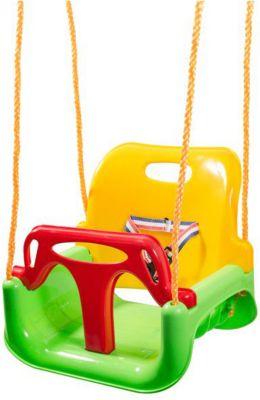 Качели 3 в 1 Kett-Up, жёлто-зелёно-красные, артикул:10248469 - Детская площадка