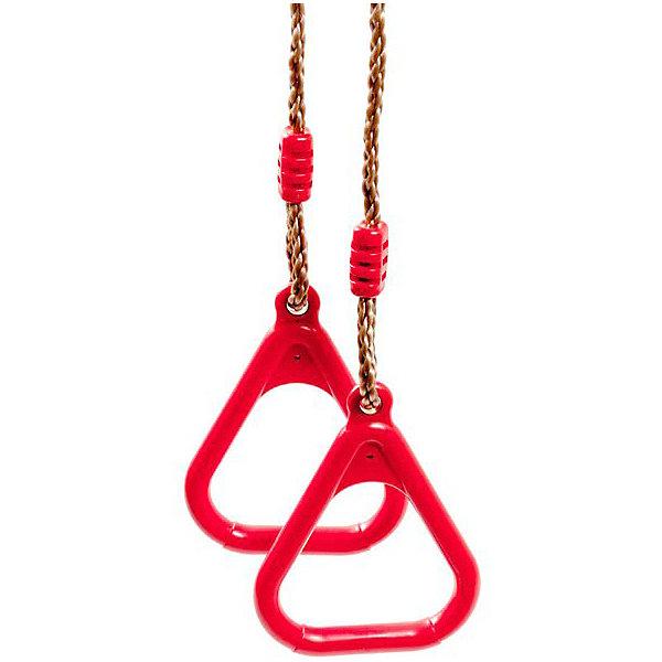 Kett-Up Гимнастические кольца Kett-Up на верёвках, красные midzumi кольца гимнастические